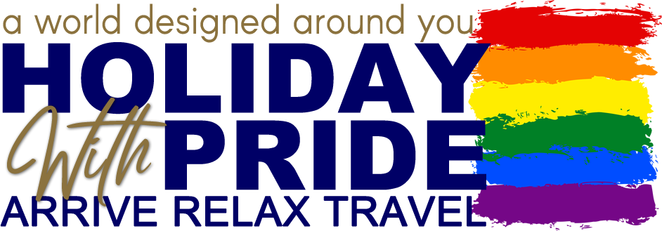 Holiday with Pride Main Logo