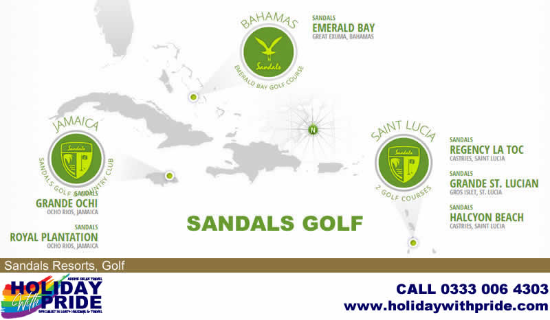 Holiday with Pride - Specialist in LGBT+ Holidays & Travel (Beaches Resorts use Sandals Golf)