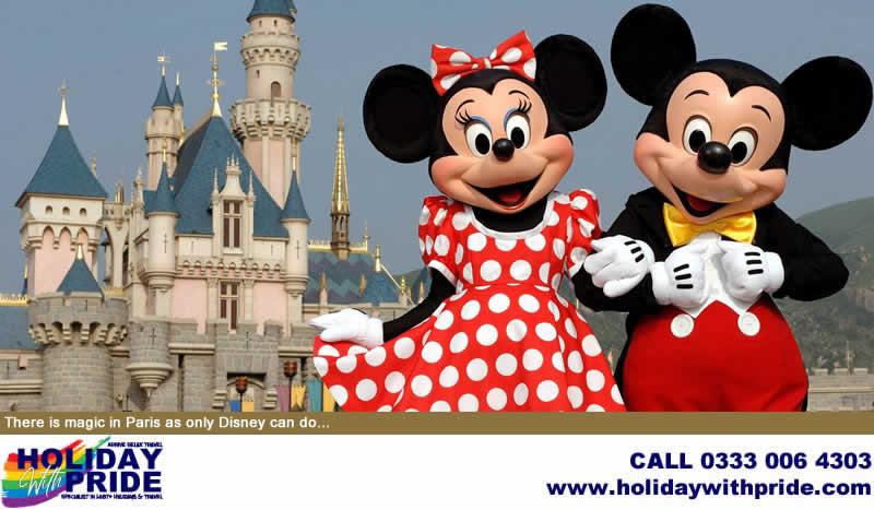 Holiday with Pride - Specialist in LGBT+ Holidays & Travel (Disneyland Paris Mickey & Minnie)