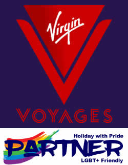 Holiday with Pride - Specialist in LGBT+ Holidays Travel and Short Breaks (Virgin Voyages Advert)